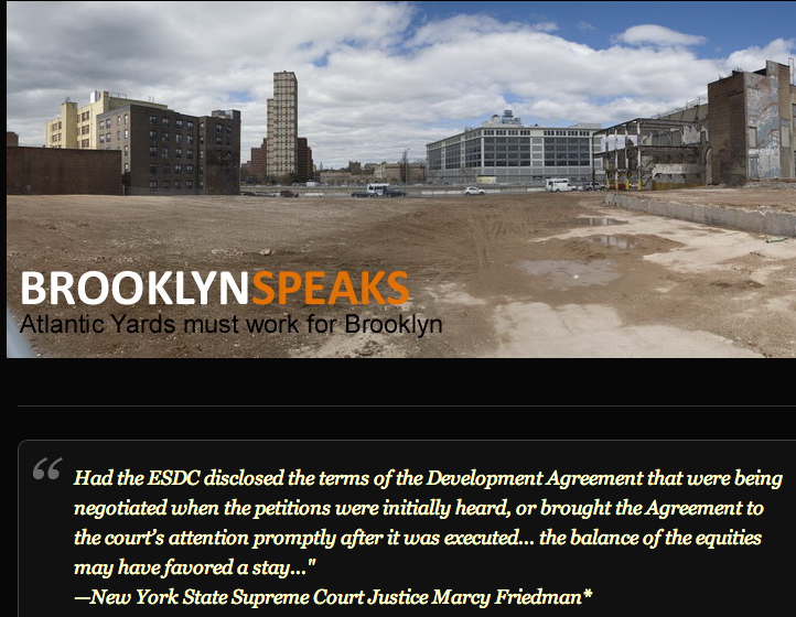 ishot 6005 State to Pay $300,000 to Lawyers Who Won Atlantic Yards Timetable Case
