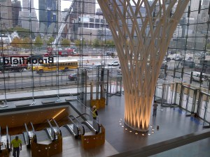 The new Entry Hall Pavilion at Brookfield Place