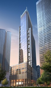 A rendering of 3WTC