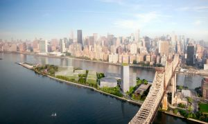 Renderings of the Cornell NYC Tech campus. Photo: Cornell/Kilograph