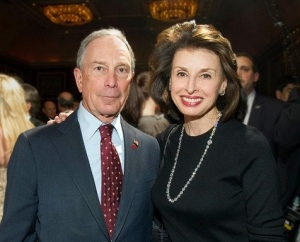 Michael Bloomberg and Mary Ann Tighe at the 2012 REBNY Foundation cocktail party. Photo: Steve Friedman