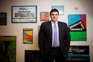 Tucker Reed, president of the Downtown Brooklyn Partnership