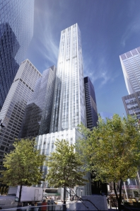 A rendering of 610 Lexington Avenue