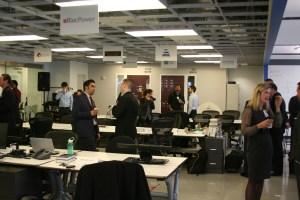 Inside Urban Future Lab at 15 MetroTech. (Credit: NYCEDC)