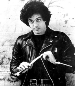 A young Billy Joel sports a switchblade.