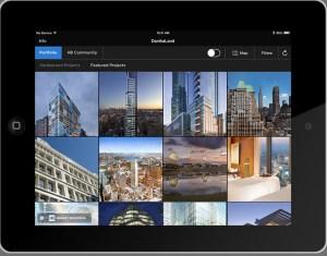 Screenshot of the new Honest Buildings app