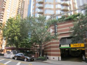 Parking garage at 500 West 43rd Street. (PropertyShark)