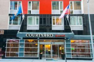 Courtyard Times Square West. (PRNewsFoto/Carey Watermark Investors)