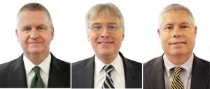 Michael Farrell, Phil Pulaski and David Kelly (l. to r.).