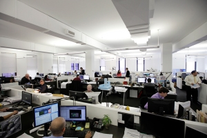 Goldstein, Hill & West Architects' office at 11 Broadway.