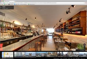 Google Maps Business view of Giorgione restaurant.
