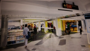 Picture of the rendering in the marketing materials for Turnstyle.