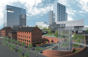Lighthouse Point development rendering. (Triangle Equities)