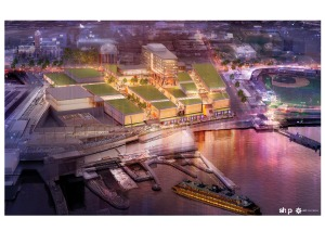 Empire Outlets rendering. (SHoP Architects)
