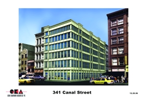 2006 rendering of 11 Greene Street. (11 Greene Street rendering July 2014. (Gene Kaufman Architect)
