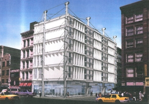 2003 rendering of 11 Greene Street. (Gene Kaufman Architect)