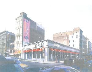 2001 rendering of 11 Greene Street. (Gene Kaufman Architect)