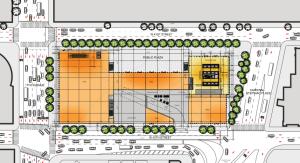 Floor plan for 520 West 41st Street. (Department of City Planning)