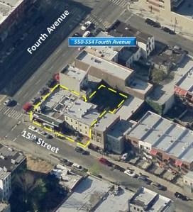 550-554 Fourth Avenue in Brooklyn.