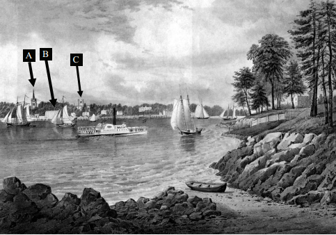 Currier and Ives 1860 Astoria