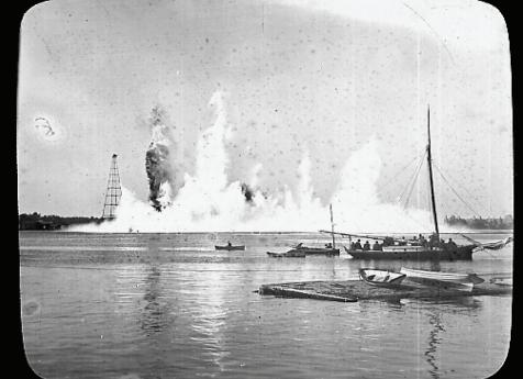 Flood Rock explosation