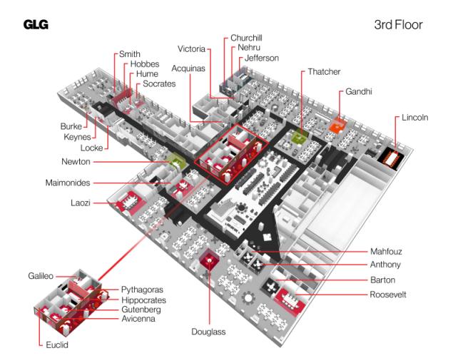 GLG floor plan
