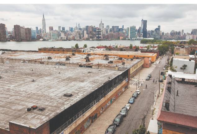 Greenpoint along the East River. (Michael Nagle)