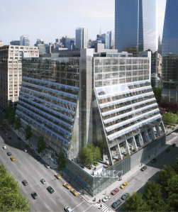 Rendering of 450 West 33rd Street.