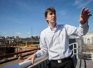 david ehrenberg at a dock in the navy yard lea rubin photography David Ehrenberg On Overseeing the Brooklyn Navy Yard