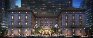 Rendering of 457 Madison Avenue, at left. (Neoscape)
