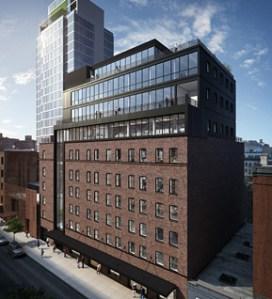 A rendering of 430 West 15th Street. (Neoscape rendering via Atlas Capital Group's website)