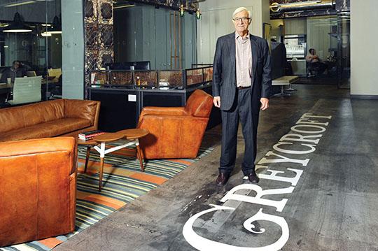 Inside Greycroft Partners' new office in Midtown.