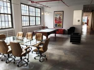 FilmRise's new home in Industry City.