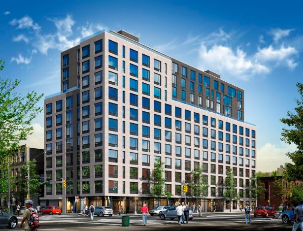 Arendering of 535 Fourth Avenue in Park Slope, Brooklyn.