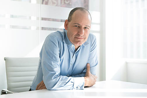 Savanna founder and managing partner Chris Schlank. (Adam Jones/for Commercial Observer)