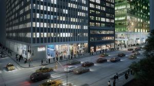 Rendering of 1065 Avenue of the Americas, aka 5 Bryant Park.