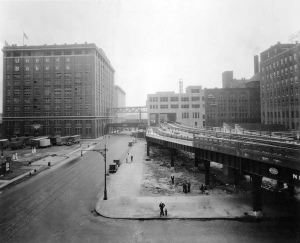 320 West 13th Street in the 1940s.