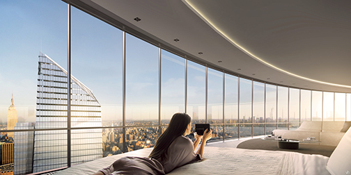 15 Hudson Yards Penthouse View (c) Related-Oxford