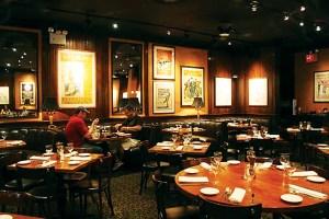 Inside the Knickerbocker Bar & Grill. (Shanna Ravindra)