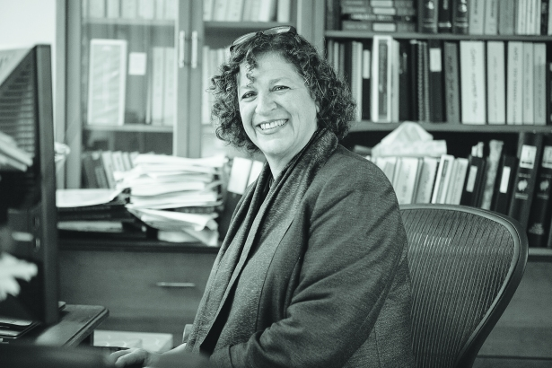 Meredith Kane at Paul, Weiss' headquarters at 1285 Avenue of the Americas (credit: Adam Jones/Commercial Observer).