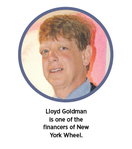 Lloyd Goldman is one of the financers of New York Wheel.