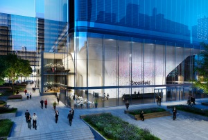 A rendering of 1 Manhattan West (Photo courtesy: Brookfield).