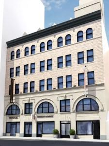 123-127 Lafayette Street (Rendering: James Kieran Pine Design).