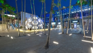 Miami Design District's Palm Court (Photo: Robin Hill/Miami Design District).