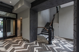 Lobby at 123 Lafayette Street (Photo: SGM Photography).