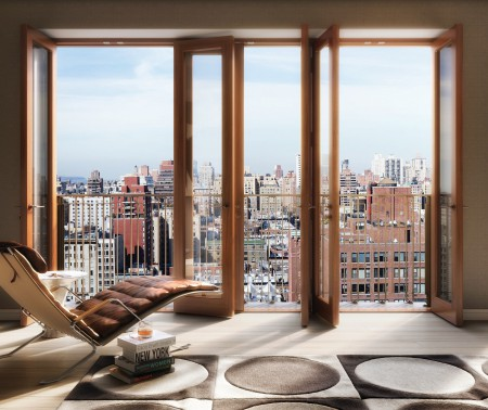 A rendering of 210 West 77th Street