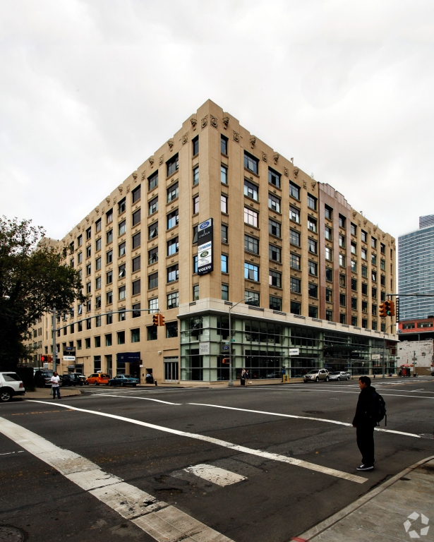 Buildings for sale such as 787 11th Avenue could soon have a different purpose (Photo: CoStar).
