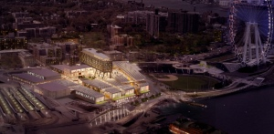 Rendering of Empire Outlets.