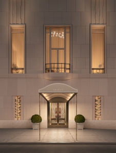 FOR EVERY SEASON: Mr. Kamali is working on the Four Seasons at 30 Park Place (Rendering by Archpartners).