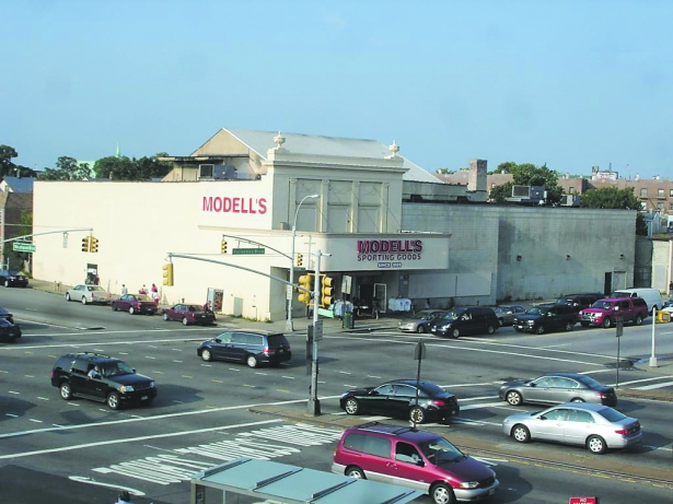 Modell's Sporting Goods in Ozone Park, Queens, might also look familiar as Cross Bay Cinemas (it closed in 2005 after 81 years showing films, and the athletic retailer opened a year later). You can still catch the old facade on reruns of The King of Queens.